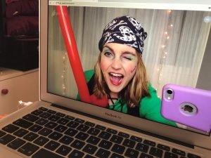 videollamada de cumple